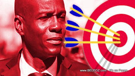 President Jovenel Moise - Bullseye (target)