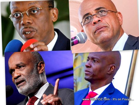 Haiti presidents Aristide, Preval, Martelly and Jovenel Moise, Great presidents but...
