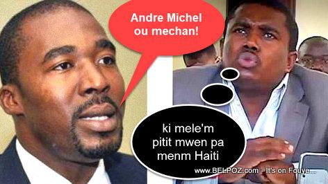 Arnel Belizaire di Andre Michel: OU MECHAN!