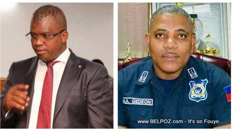 Haiti Senateur Rony Celestin & DH PNH Michel-Ange Gedeon