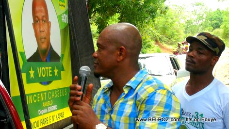 PHOTO: Vincent Casseus - Candidate for Depute of Jeremie Haiti