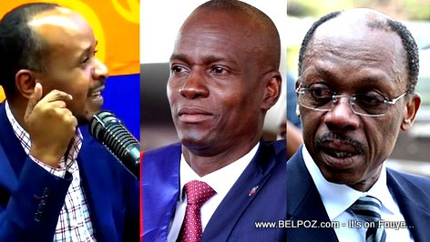 PHOTO: Assad Volcy, President Jovenel Moise, Jean Bertrand Aristide