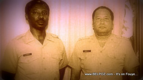PHOTO: Haiti - General Williams Regala and General Henry Namphy