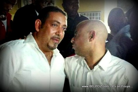 Presidential Candidates Edo Zenny and Laurent Lamothe at the Electoral Council