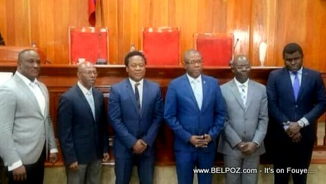 Haiti Senate Office 2019, meet the members