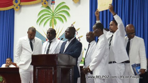 PHOTO: Haitian Lawmakers of the Opposition