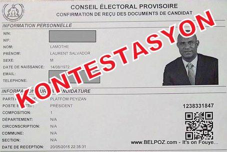 Haiti Election Contestation - Kontestasyon