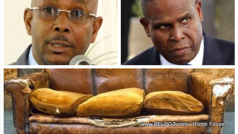 Two Haitian Prime Ministers an the old Sofa, a Funny Story