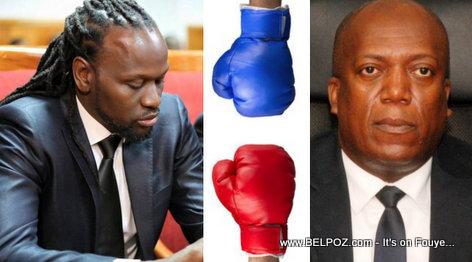 Haitian Senator Don Kato vs Justice Minister Jean Roudy Aly