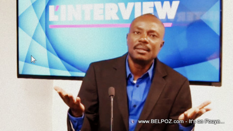Moise Jean Charles in the Television show L'Interview