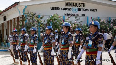 MINUJUSTH Haiti UN Mission