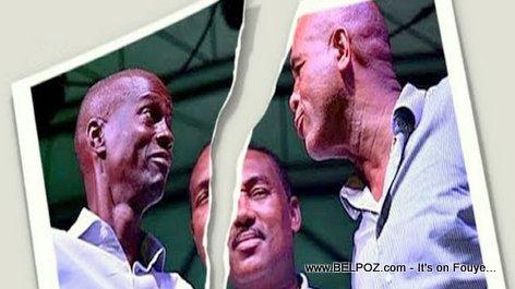 Michel Martelly vs President Jovenel Moise