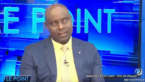 Senator Jacques Sauveur Jean Live on Television
