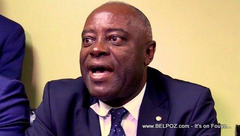 Haiti Senator Saurel Jacinthe