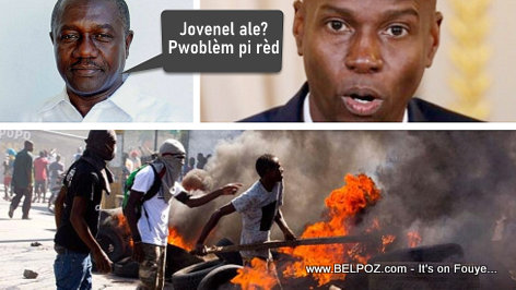 Gabriel Fortune predicts more chaos to follow should President Jovenel leave prematurely