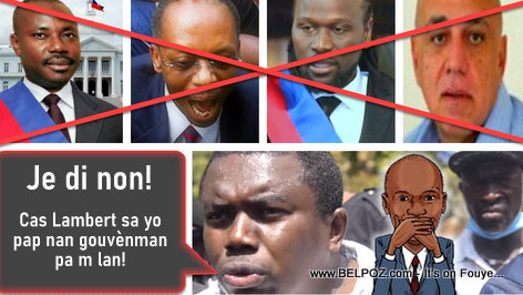 One fringe of the opposition wants a government without Moise Jn-Charles, Aristide, Boulos and Don Kato