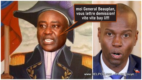 Evaliere Beauplan gives President Jovenel an ultimatum, Resignation letter or Grenadier a l'Assaut