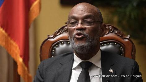 Haiti prime minister Ariel Henry