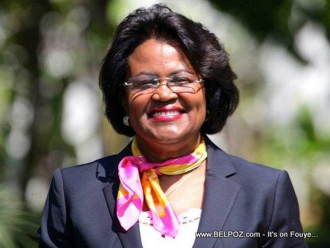 Carmelle Jean-Marie - Haiti Ministre de l'Economie et des Finances