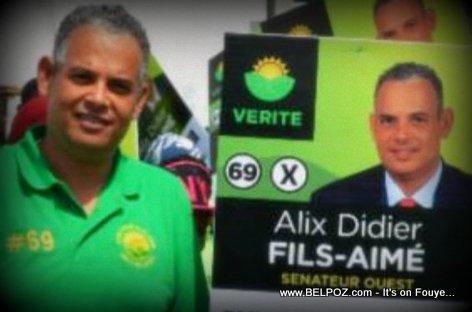 PHOTO : Alix Didier Fils-Aime - Haiti Candidat Senateur Ouest