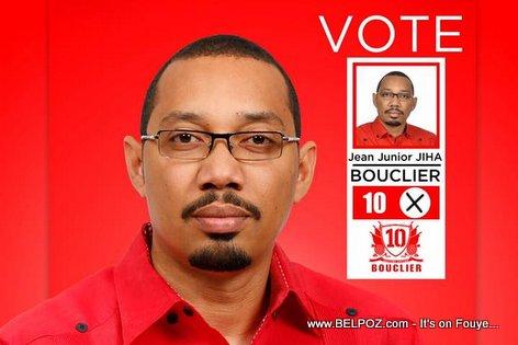 Jean Junior JIHA - Candidat au Senat, Plateau Central