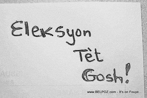 Haiti Elections : Eleksyon Tet Gosh...