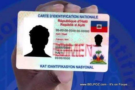 PHOTO : Haiti Elections - Carte Identification Nationale Specimen