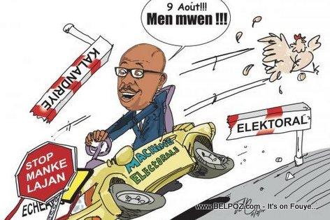 Haiti Caricature - Vle PA Vle, MEN Eleksyon sou nou...