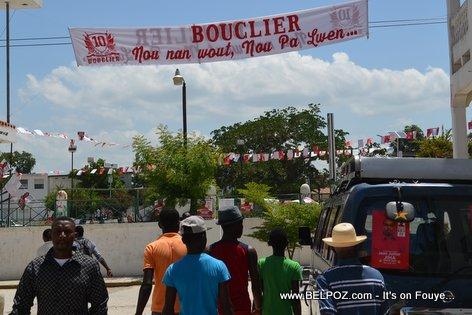 Haiti Elections - Reseau BOUCLIER Ouverture Campagne Electoral, Hinche Haiti
