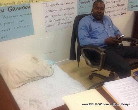 Depute Arnel Belizaire - Hunger Strike - Greve de Faim