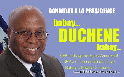 Haiti Election - KEP a mete deyo Kandida Willy Duchene