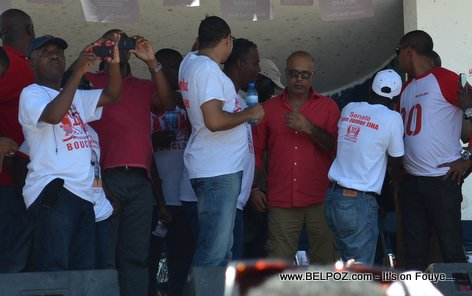Bouclier Election Campaign Hinche Haiti