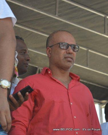 Candidate Steve Khawly - Bouclier Election Campaign Hinche Haiti