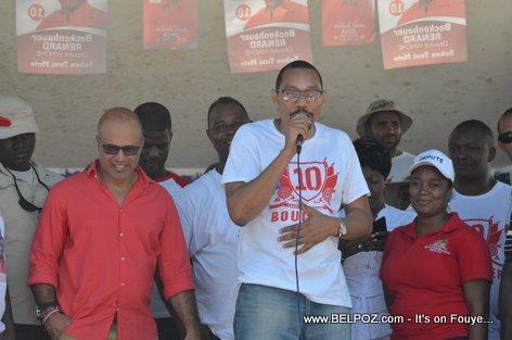 Steve Khawly, Jean Junior Jiha - Bouclier Election Campaign Hinche Haiti