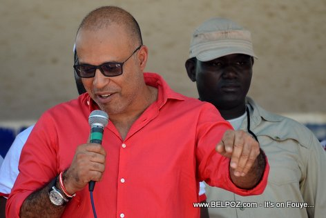 Steve Khawly - Bouclier Election Campaign Hinche Haiti