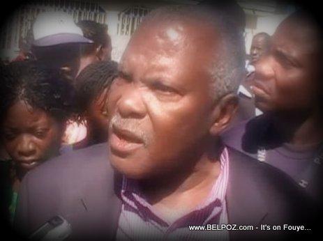Haiti Senateur Andris Riche