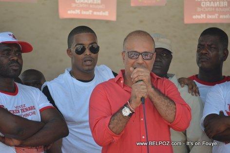Steeve Khawly - Bouclier Election Campaign Hinche Haiti