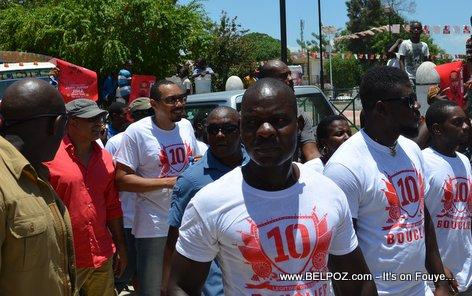 Steeve Khawly, Junior Jiha - Bouclier Election Campaign Hinche Haiti