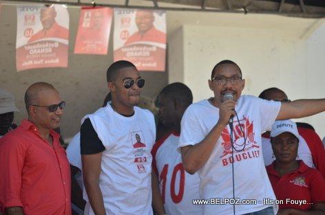 Steeve Khawly, Ti Ansito, Junior Jiha - Bouclier Election Campaign Hinche Haiti