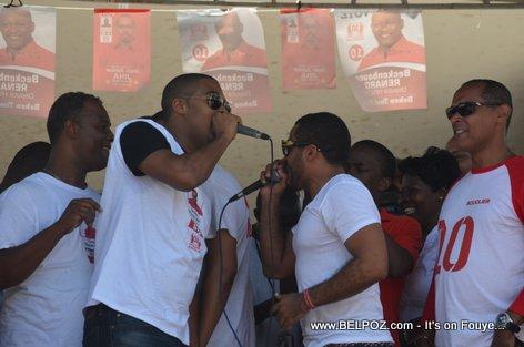 Team Lobey - Bouclier Election Campaign Hinche Haiti
