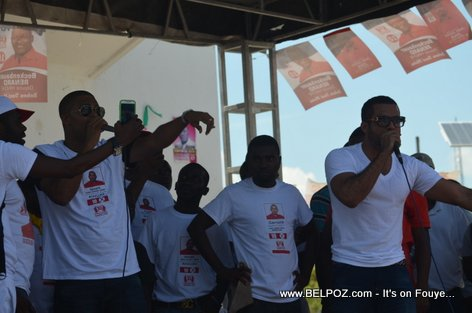 Team Lobey - Bouclier Election Campaign Hinche Haiti