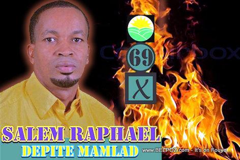 Salem Raphael - Candidat Depute Marmelade Haiti