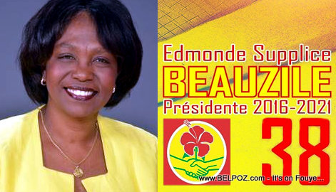 Edmonde Supplice Beauzile - Candidate for President
