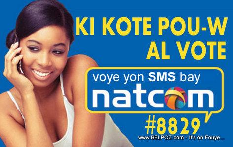 Haiti Elections: NATCOM ka di-w Ki Kote Pou w al Vote, SMS NATCOM