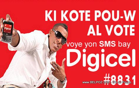 Haiti Elections: DIGICEL ka di-w Ki Kote Pou w al Vote, SMS DIGICEL