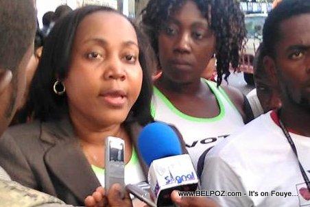 Hélène Celan Alexis - Candidat Depute PetionVille - Renmen Ayiti