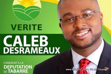 Caleb Desrameaux, Candidat Depute Tabarre