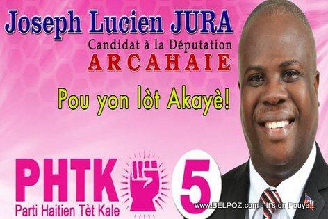 Candidat Lucien Jura - Depute PHTK Arcahaie