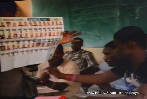 Haiti Election 2015 - Dépouillement Komanse