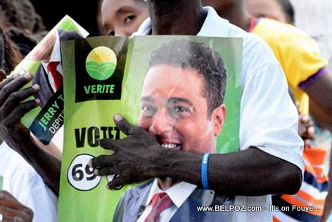 Haiti Elecitons - Jerry Tardieu Candidate Poster